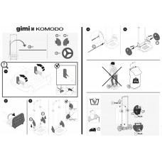 Сумка-тележка Gimi Komodo Blue