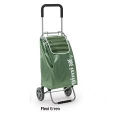 Сумка-тележка Gimi Flexi green