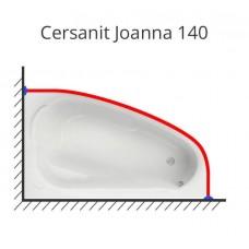 Карниз для ванны Cersanit Joanna 140х90