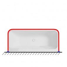 Карниз для ванны П образный 170х80
