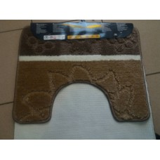 Комплект ковриков для ванной и туалета EUROBANO SYSTYLE 50*80+50*40 Afrodit