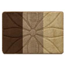 Комплект ковриков для ванной и туалета EUROBANO STRIPE 50*80+50*40 Flor