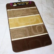 Комплект ковриков для ванной и туалета EUROBANO STRIPE 50*80+50*40 Renctangle