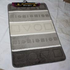 Комплект ковриков для ванной и туалета EUROBANO STRIPE 50*80+50*40 Analitik