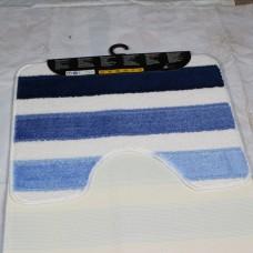 Комплект ковриков для ванной и туалета EUROBANO SYSTYLE 50*80+50*40 Flontane