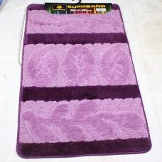 Комплект ковриков для ванной и туалета EUROBANO SUPER 3D 60*100 + 60*50 Laurel