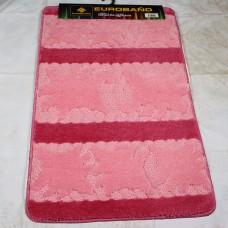 Комплект ковриков для ванной и туалета EUROBANO SUPER 3D 60*100 + 60*50 Natura