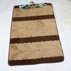 Комплект ковриков для ванной и туалета EUROBANO SUPER 3D 60*100 + 60*50 Melis