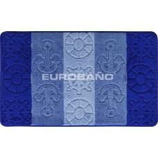 Коврик для ванной EUROBANO STRIPE 60*100 Titanic
