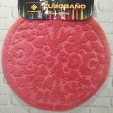 Коврик для ванной EUROBANO SIMBOL 66*66 розовый