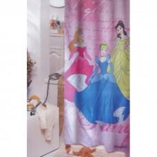 """Шторка для ванной """"Zalel"""" Disney фотопринт 180*200 Princess"""
