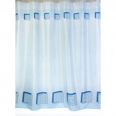 Шторка для ванной Zalel, полиестер 180*200 (арт. 01336/1 Blue)