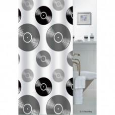Шторка для ванной 180*200 Полиестер ZL-15 Recording