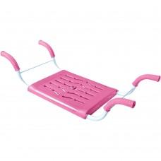 Сиденье в ванну нераздвижное Ника СВ4 розовое