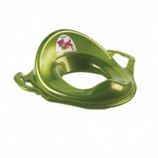 Адаптер детский на унитаз зеленый