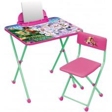 Комплект детской мебели Феи. Азбука (арт. Д2Ф1)