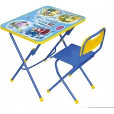 Комплект детской мебели Ника Волшебный мир принцесс (арт. КПУ1/16) пластиковое сиденье