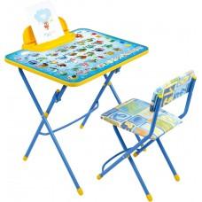 Комплект детской мебели Ника Азбука (арт. КУ2/9) мягкое сиденье