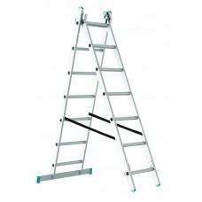 Лестница-стремянка Sarayli 2x16 двухсекционная промышленная (1216)
