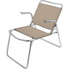 Кресло-шезлонг складное (арт. К1) песочный