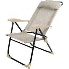 Кресло-шезлонг складное (арт. КШ2) Ротанг