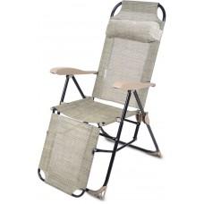 Кресло-шезлонг складное (арт. КШ3) Ротанг