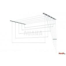 Сушилка потолочная Лиана 1,4 метр металл