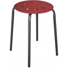 Табурет с пластмассовым сиденьем (арт. ТП01)