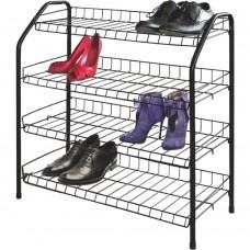 Этажерка для обуви Ника ЭТ1 (черный)