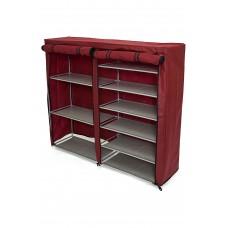 Шкаф для обуви и вещей (арт. W14112803617) красный