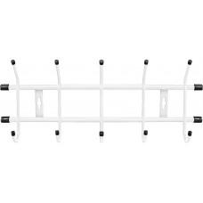 Вешалка настенная 5 крючков Ника ВН5 цвет: белый