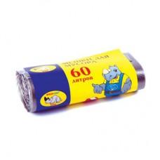 Мешки для мусора 60л особопрочные