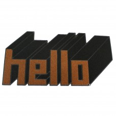 Коврик придверный Hello 77×39 см