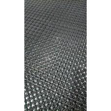 Коврик придверный Травка 40*56 серый металлик