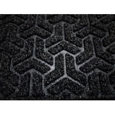 Коврик придверный ПРАКТИК 40*60 черный (241.001)