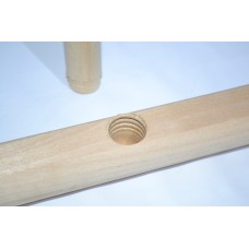 Швабра деревянная Элит 50 см (Высший сорт)