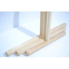 Швабра деревянная Элит 40 см (Высший сорт)
