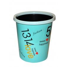 Ведро для мусора 12 литров без крышки (3023)