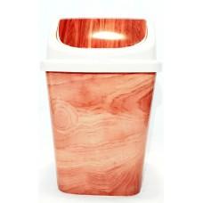 Ведро для мусора 12 литров с плавающей крышкой (0023)
