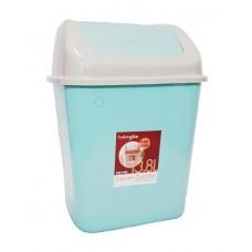 Ведро для мусора 13,8 литра с плавающей крышкой (8041)