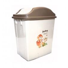 Ведро для мусора 18 литров с плавающей крышкой (4003)